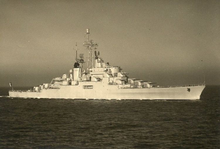 French cruiser Colbert (C611) Naval Analyses WARSHIPS OF THE PAST Colbert and De Grasse anti