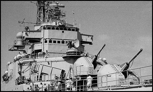 French cruiser Colbert (C611) Marine Nationale Cruiser C611 Colbert 1988 French Marine Flickr