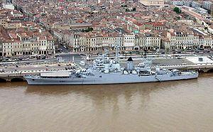 French cruiser Colbert (C611) French cruiser Colbert C611 Wikipedia