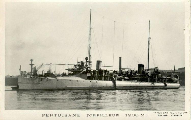 French destroyer Pertuisane