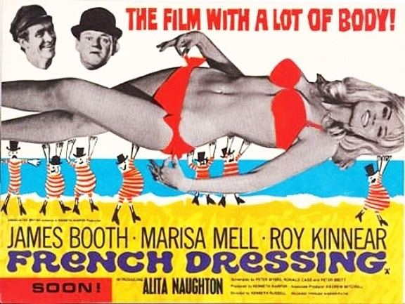 French Dressing (1964 film) French Dressing 1964 DVD Ken Russell James Booth Roy Kinnear