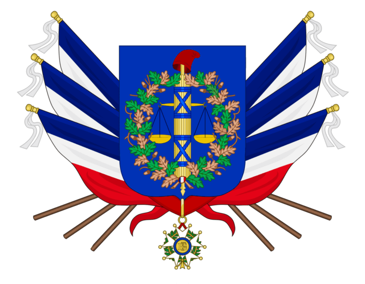 French First Republic First French Republic CoA by TiltschMaster on DeviantArt