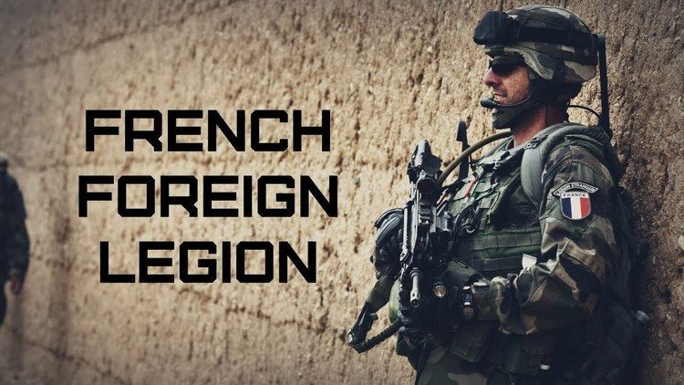French Foreign Legion French Foreign Legion Lgion Etrangre YouTube