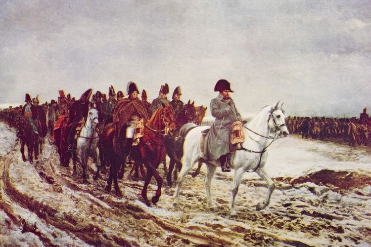 French invasion of Russia Napoleon39s Disastrous Invasion of Russia History in the Headlines
