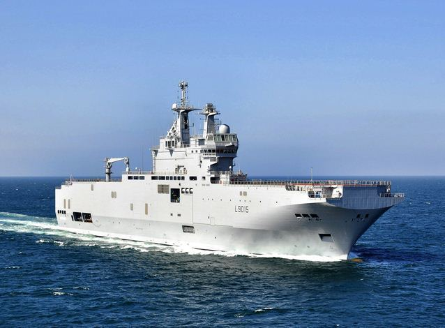 French Navy French Navy Takes Delivery of BPC Dixmude World Maritime News