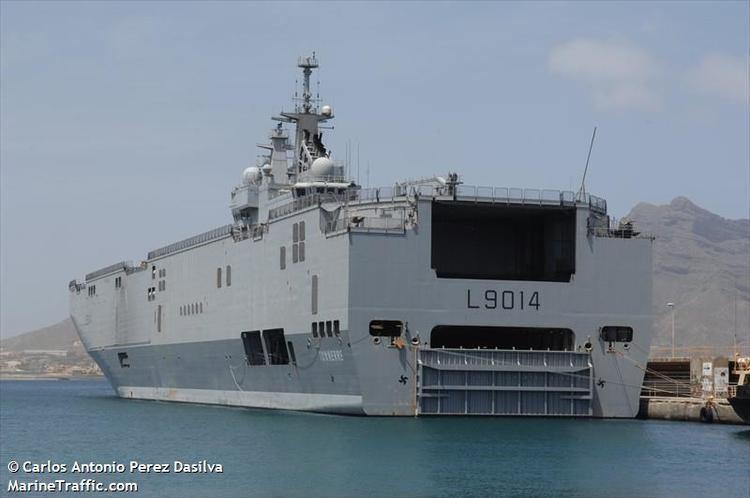 French ship Tonnerre (L9014) photosmarinetrafficcomaisshowphotoaspxmmsi2
