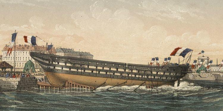 French ship Ville de Nantes