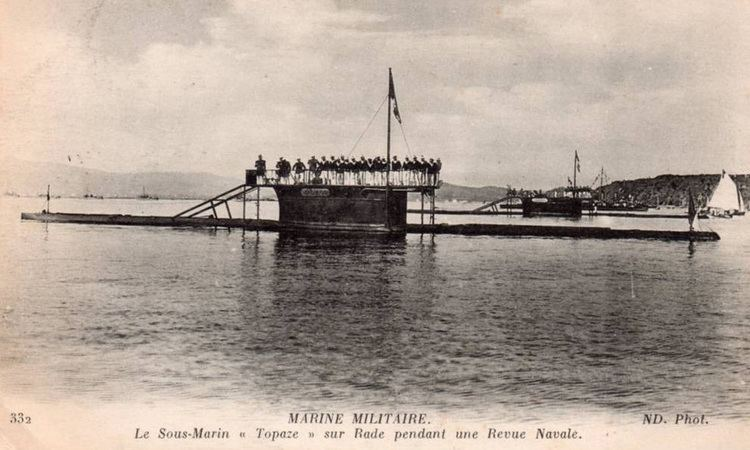 French submarine Topaze