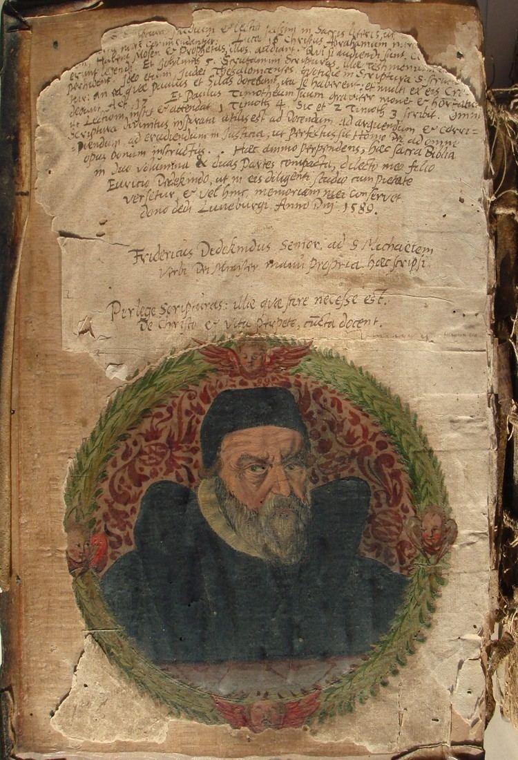 Friedrich Dedekind FileFriedrich Dedekind portrait complete pagejpg Wikimedia Commons