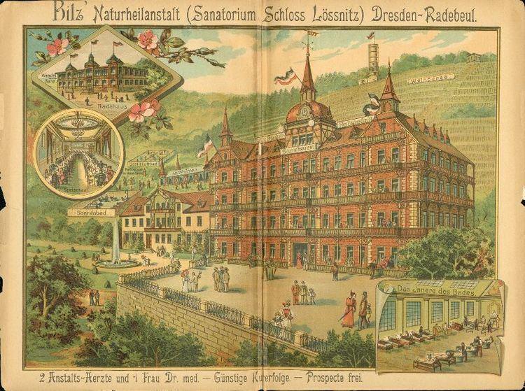 Friedrich Eduard Bilz Werbung