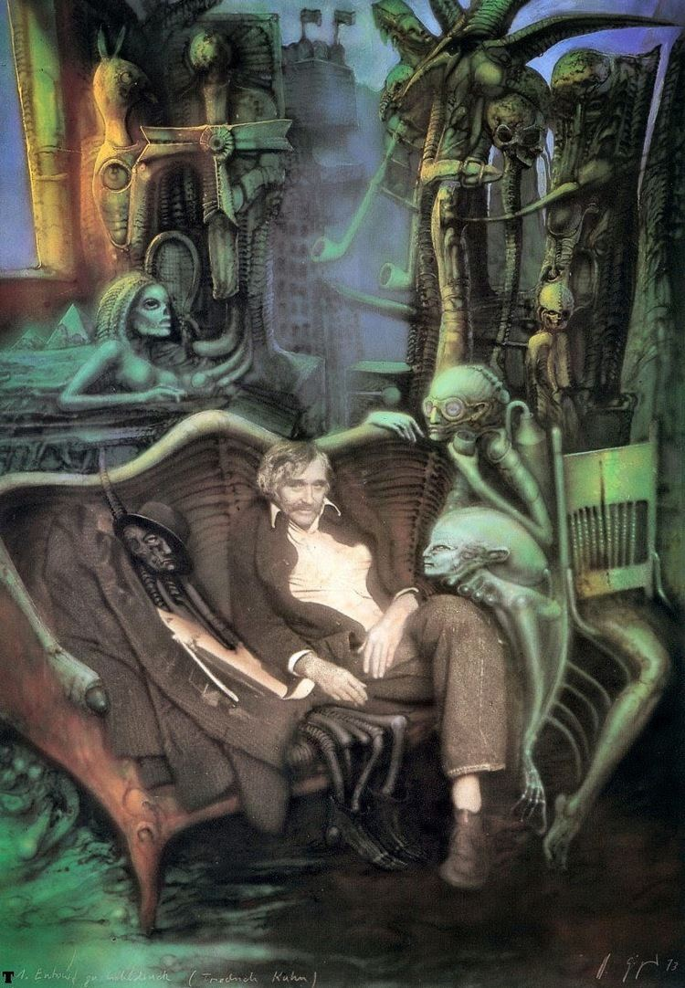 Friedrich Kuhn Alien Explorations Biomechanised Friedrich Kuhn photo reveals