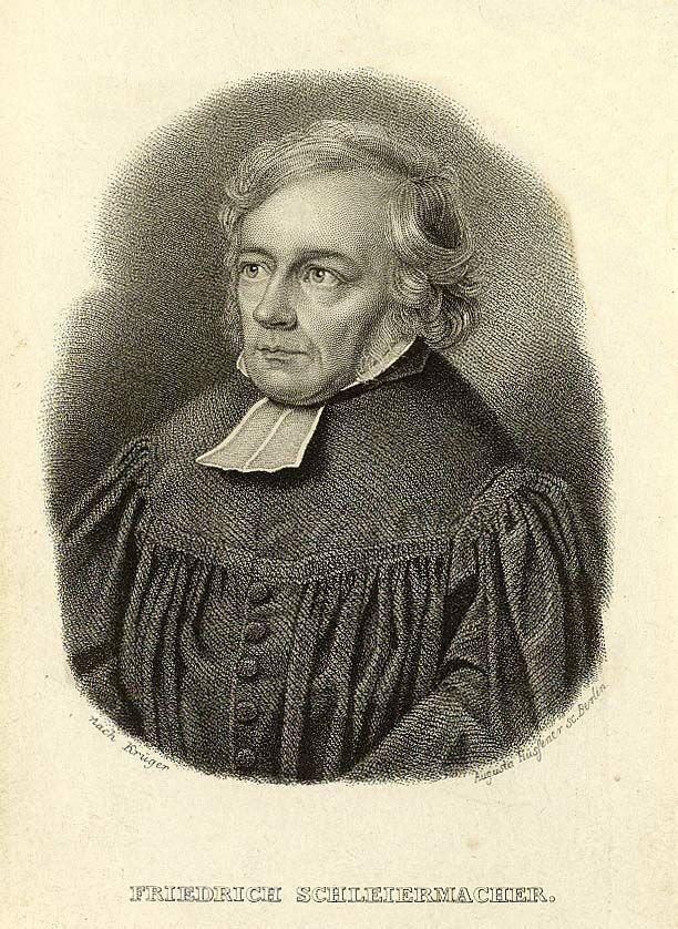 Friedrich Schleiermacher Friedrich Schleiermacher Wikipedia the free encyclopedia