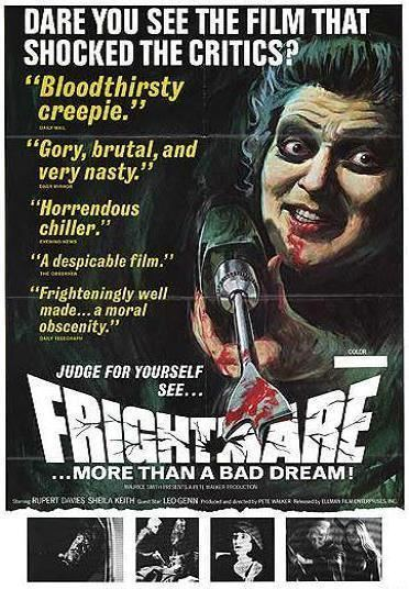 Frightmare The Bloody Pit of Horror Frightmare 1974