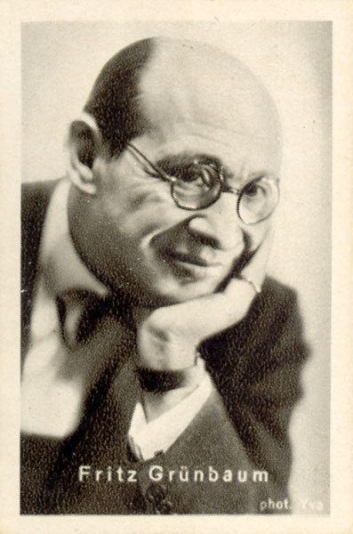 Fritz Grünbaum wwwvirtualhistorycommoviecigcard63large058jpg