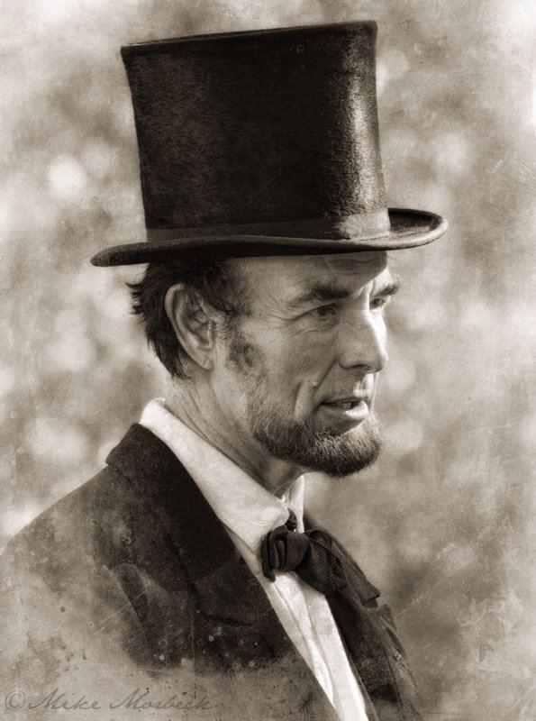 Fritz Klein Fritz Klein as Abraham Lincoln photo Mike Morbeck photos