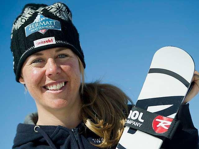Fränzi Aufdenblatten Ski alpin Wieder Gold fr Aufdenblatten Premiere fr Tumler Blick
