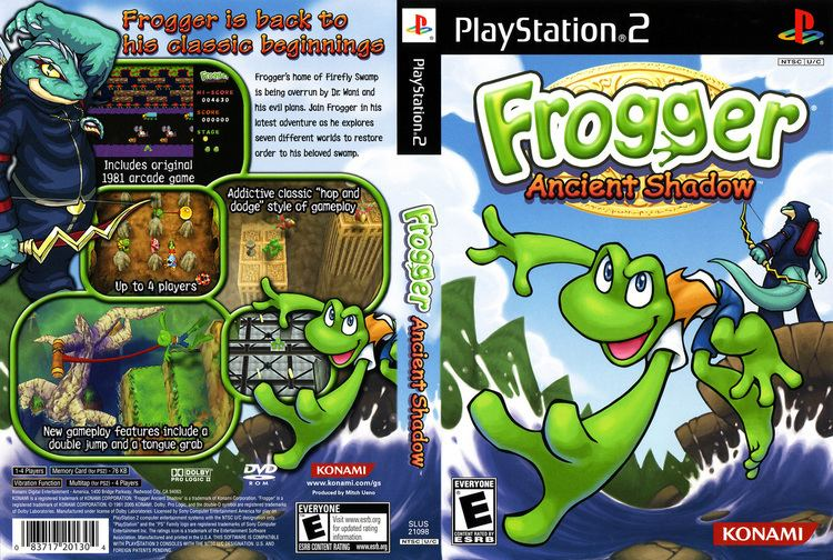 Frogger: Ancient Shadow Frogger Ancient Shadow Cover Download Sony Playstation 2 Covers
