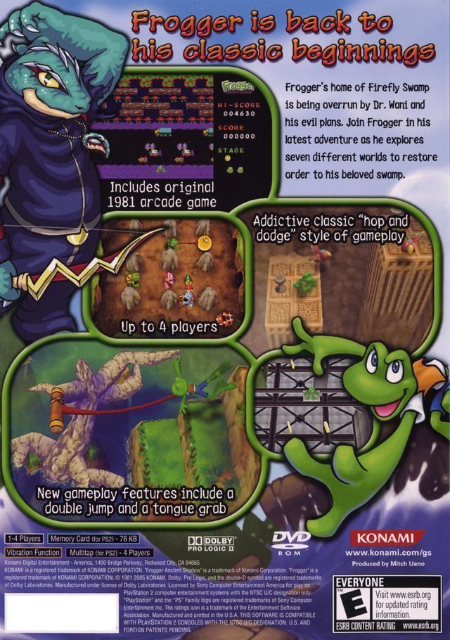 Frogger: Ancient Shadow Frogger Ancient Shadow Box Shot for PlayStation 2 GameFAQs