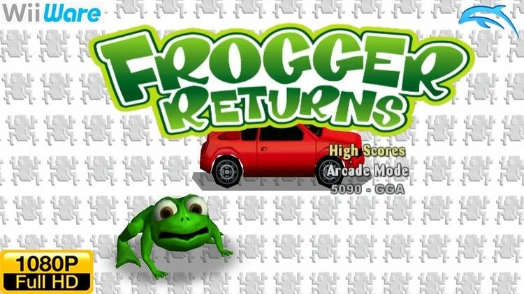 Frogger Returns Frogger Returns WiiWare Wii Gameplay 1080p Dolphin GCWii