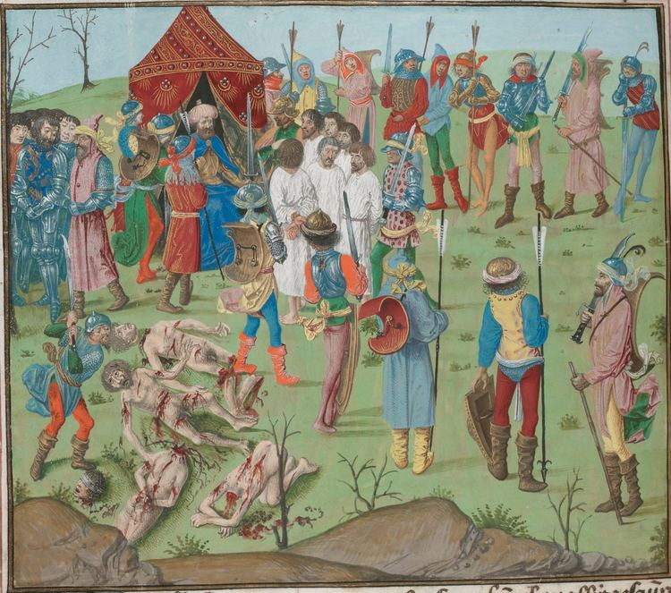 Froissart of Louis of Gruuthuse (BnF Fr 2643-6)