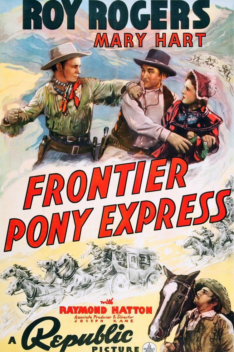 Frontier Pony Express wwwgstaticcomtvthumbmovieposters42643p42643