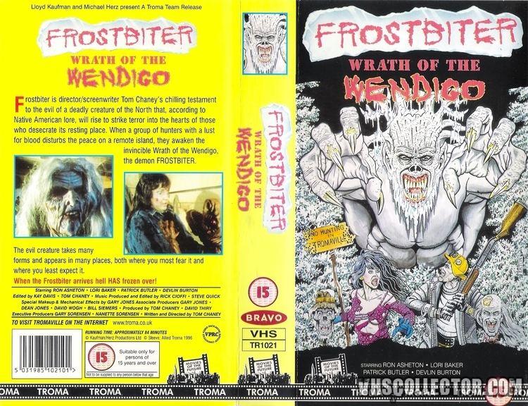 Frostbiter: Wrath of the Wendigo Frostbiter Wrath Of The Wendigo VHSCollectorcom Your Analog