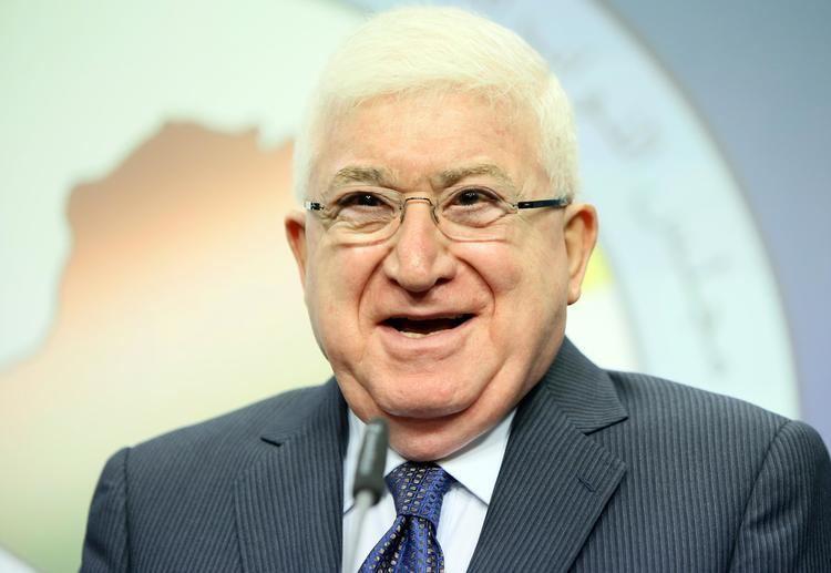 Fuad Masum Iraq39s new president Masum thinker and fighter Yahoo News