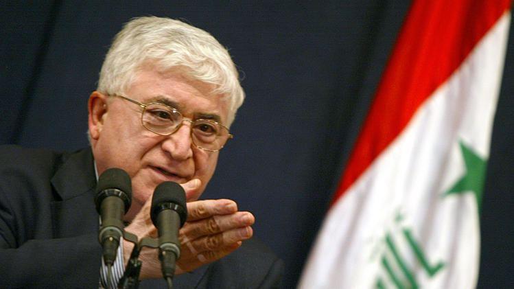 Fuad Masum Gobierno Regional del Kurdistn Kurdish Politician Fuad