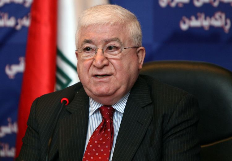 Fuad Masum US stresses support for Iraq president Yahoo News