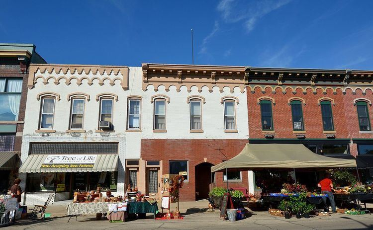Fulton Commercial Historic District