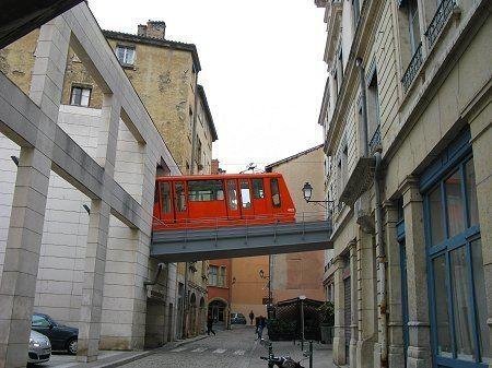 Funiculars of Lyon UrbanRailNet gt France gt Lyon Funiculars