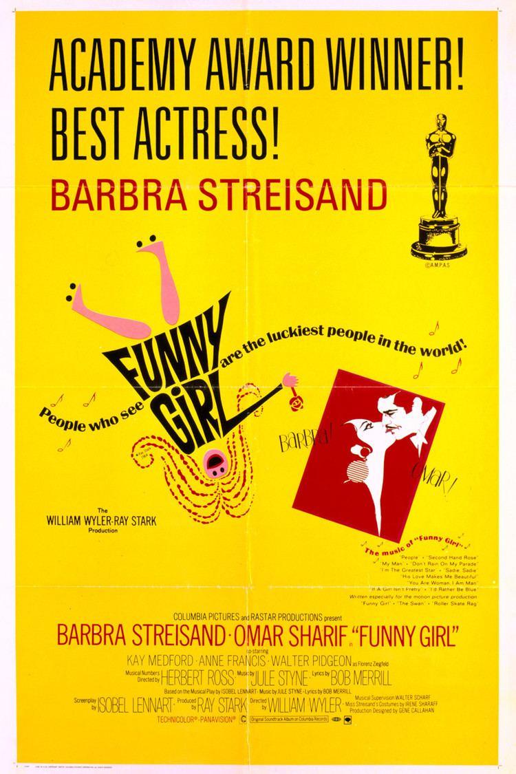 Funny Girl (film) wwwgstaticcomtvthumbmovieposters4336p4336p