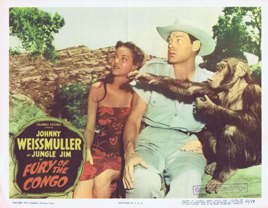Fury of the Congo FURY OF THE CONGO 1951 Jungle Jim Johnny Weissmuller Lobby Card 2