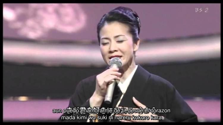 Fuyumi Sakamoto Fuyumi Sakamoto mata kimi ni koishiteru sub esp YouTube