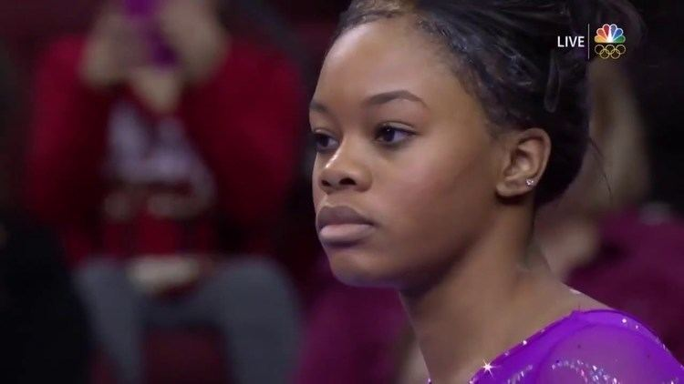 Gabby Douglas Gymnast Gabby Douglas slays at the 2016 American Cup YouTube