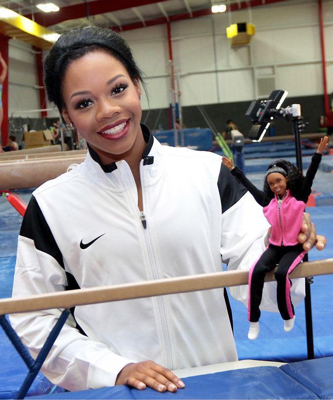 Gabby Douglas Olympic Gymnast Gabby Douglas Now Has Her Own Shero Barbie Doll