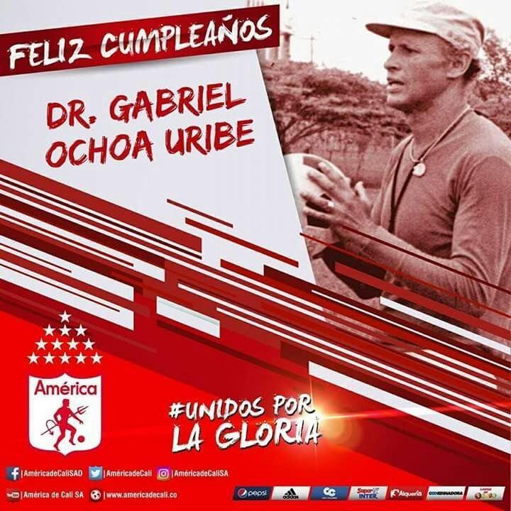 Gabriel Ochoa Uribe La familia escarlata le desea a el Dr Gabriel Ochoa Uribe un Feliz