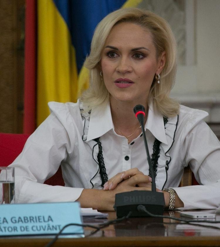 Gabriela Firea Senator Gabriela Firea blackmail case Traian Basescu to