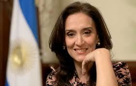 Gabriela Michetti GQUAL VicePresident of Argentina to sign GQUAL