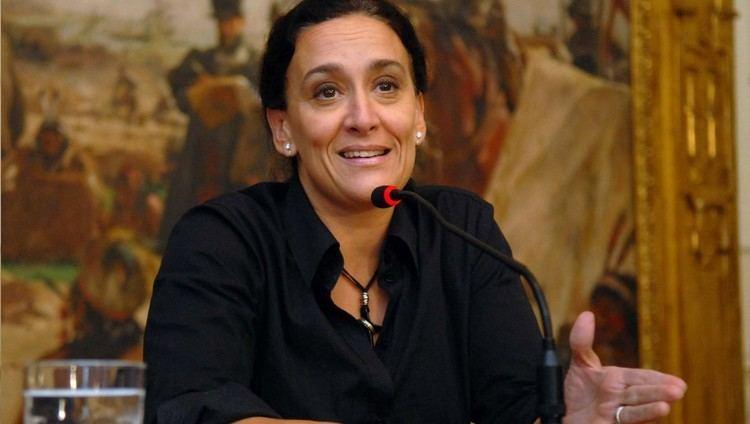 Gabriela Michetti Estar hoy Gabriela Michetti en la Plaza Solares Diario