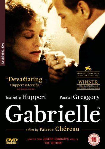 Gabrielle (2005 film) Gabrielle 2005 DVD Amazoncouk Isabelle Huppert Pascal
