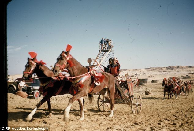 Gaby (film) movie scenes Filmed on location in Egypt Mount Sinai and the Sinai Peninsula The Ten