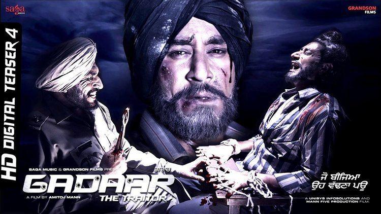 Gaddar: The Traitor Amitoj Manns Film Gadaar The Traitor Digital Teaser 4
