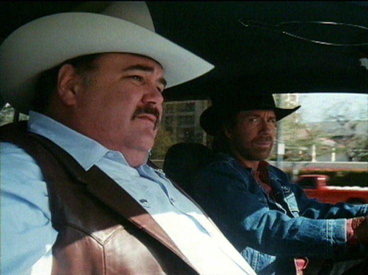 Gailard Sartain Gailard Sartain with Chuck Norris on Walker Texas Ranger