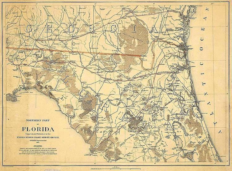 Gainesville, Florida in the past, History of Gainesville, Florida