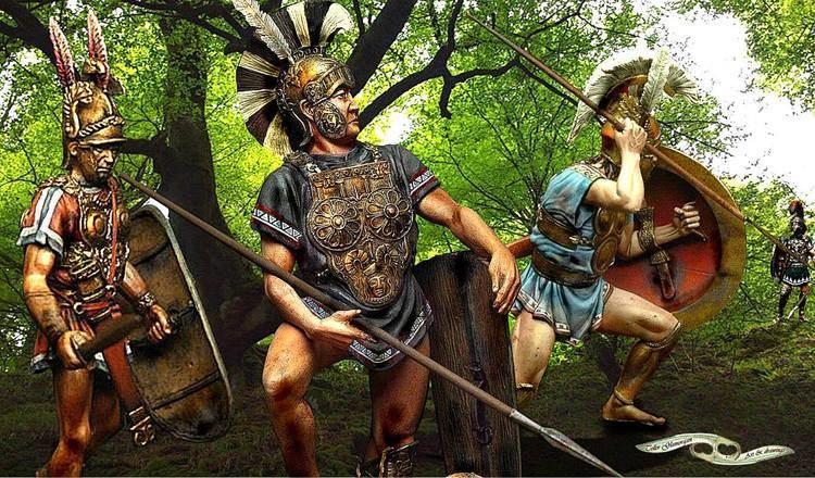 Gaius Pontius The leader of the Samnites Gaius Pontius Telesino prepares with