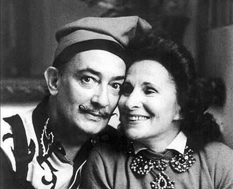 Gala Dalí 1000 images about Dali amp Gala Epic Love on Pinterest Instrumental