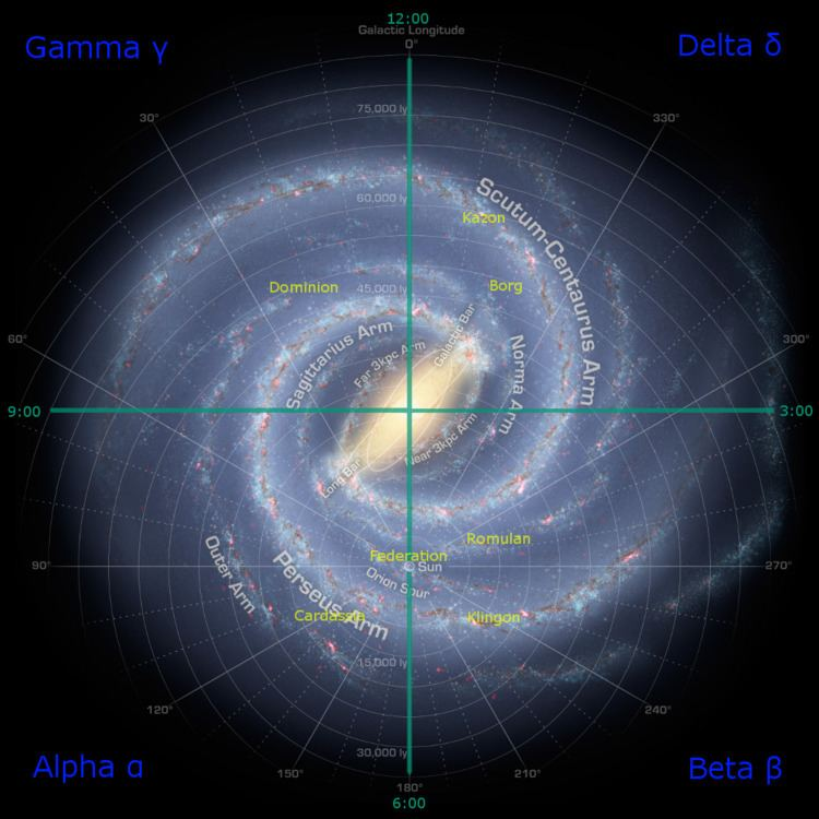 Galactic quadrant (Star Trek)