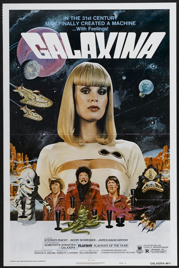 Galaxina space1970 GALAXINA 1980 Theatrical Posters