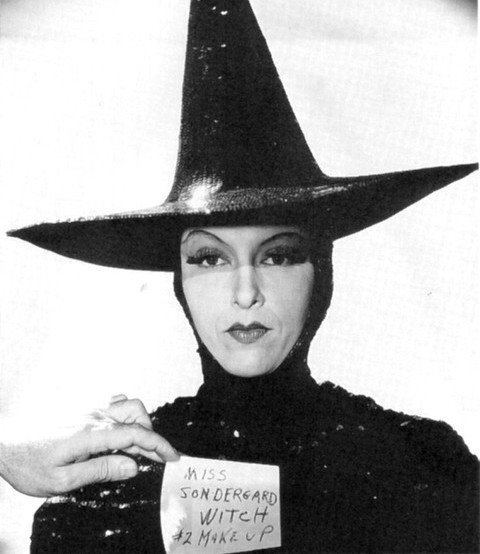 Gale Sondergaard Gale Sondergaard in a costume tryout for the part of the